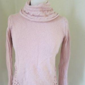 db Petite Small Pink Peach Wool Blend Sweater PS